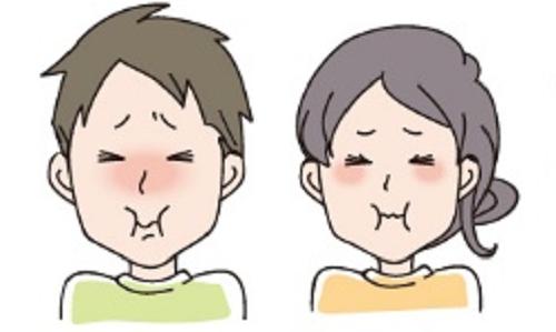 酸っぱい顔