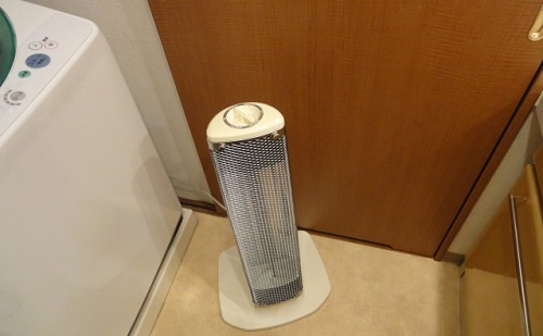 脱衣所のヒーター