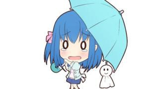 傘の女の子