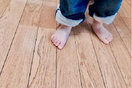 子供の裸足のメリット