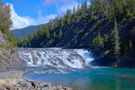 北アメリカの川
