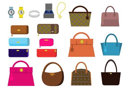 バッグと財布