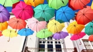 傘いっぱい