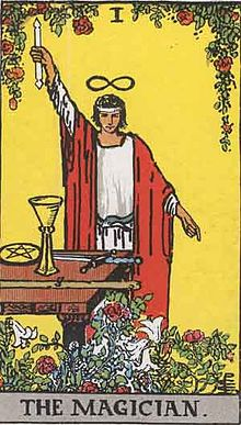 魔術師 タロットカード