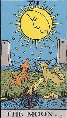 月 タロットカード