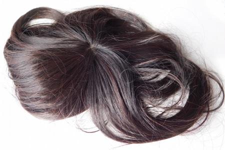 髪の毛の束
